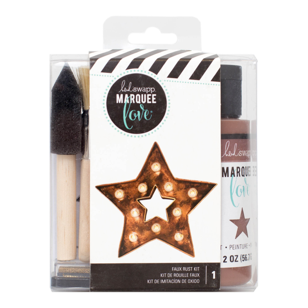 Marquee Love Rust Distress Kit – Heidi Swapp