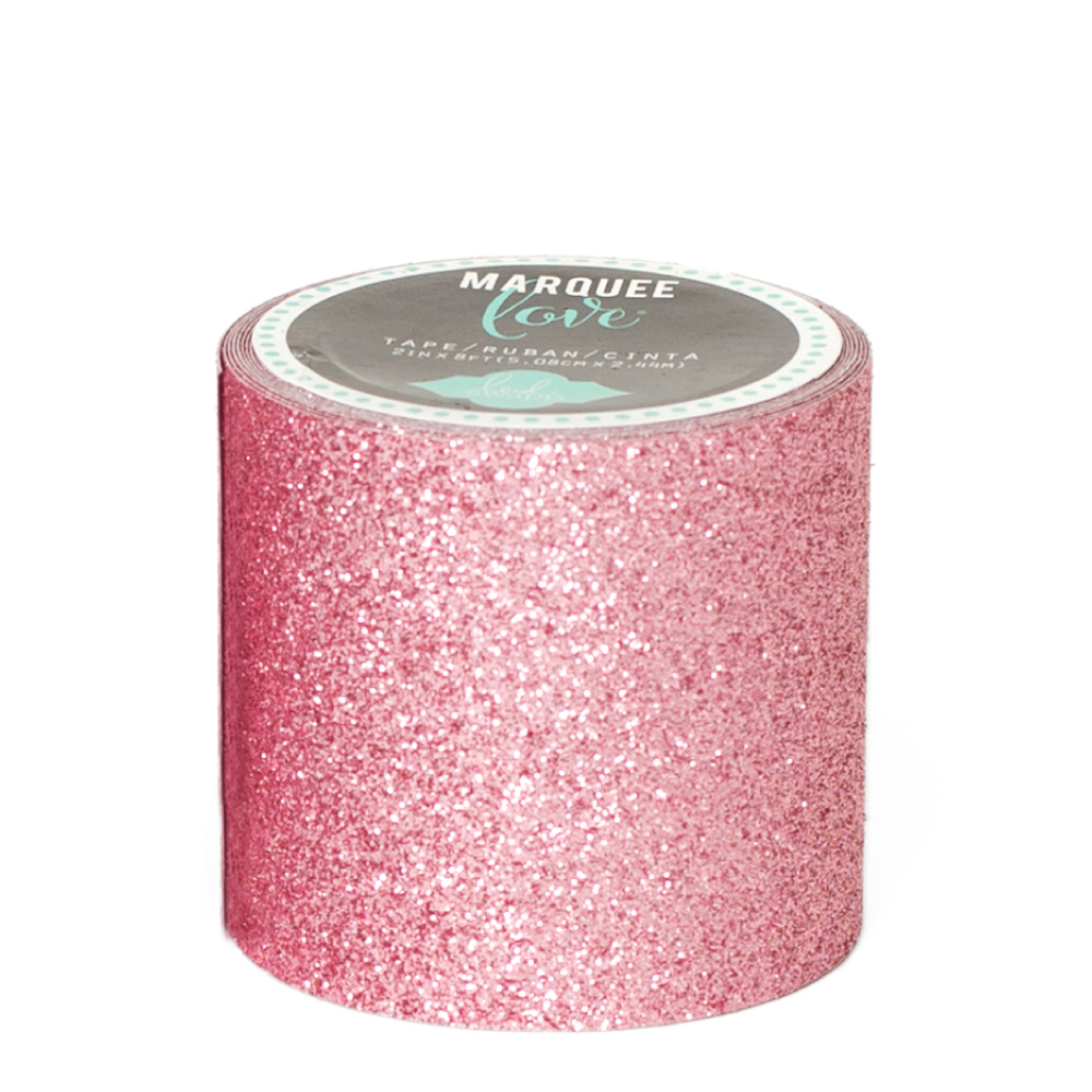Marquee love pale pink 2 inch decorative glitter tape heidi swapp marquee love pale pink 2 inch decorative glitter tape aloadofball Image collections