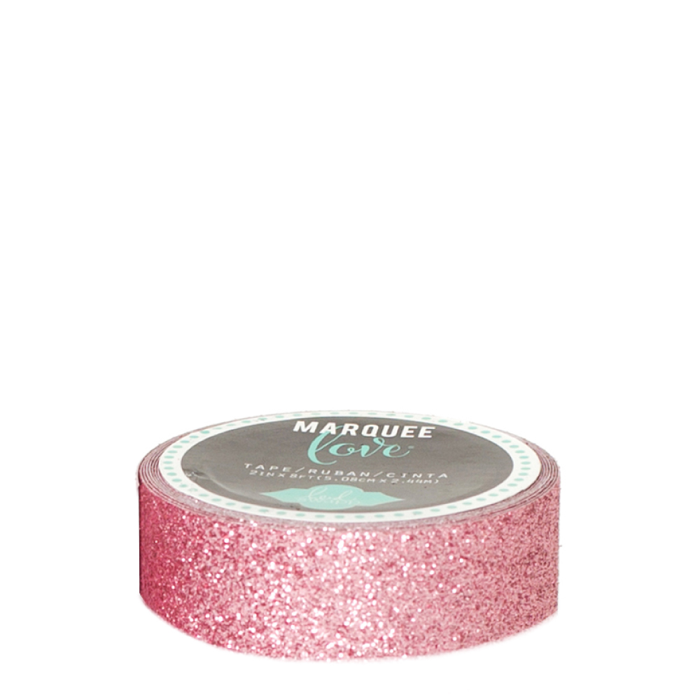 Marquee love pale pink 78 inch decorative glitter tape heidi swapp marquee love pale pink aloadofball Image collections