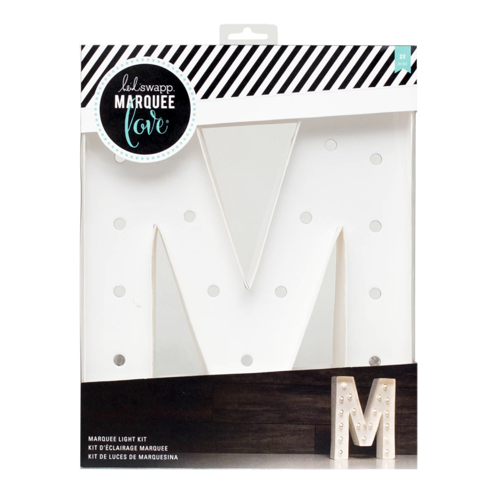 Marquee Love 12 Inch Letter M Heidi Swapp