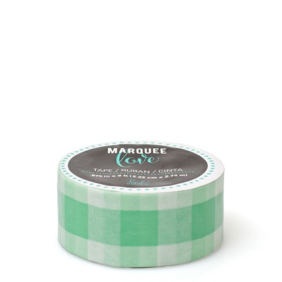 312779-Marquee-Love-Mint-Gingham-7-8-Inch-tape