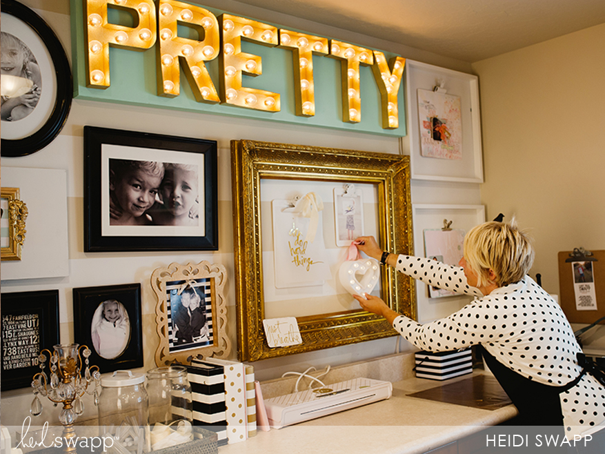 Heidi's Gallery Wall Tips…Studio 5