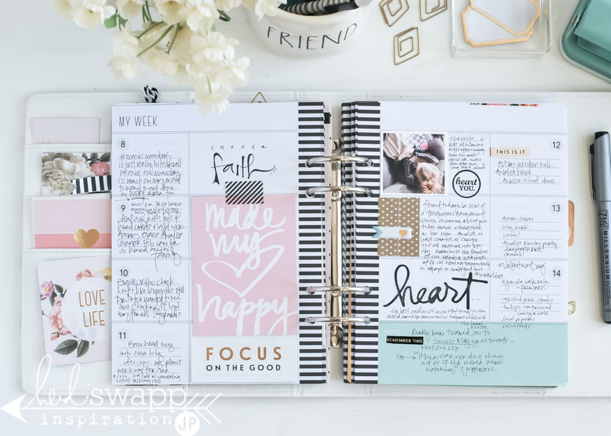 Memory Planner Finished Pages | @jamiepate for @heidiswapp