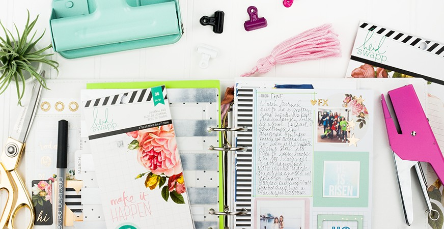 My Memory Planner pages - March 2016   @MaggieWMassey for @HeidiSwapp