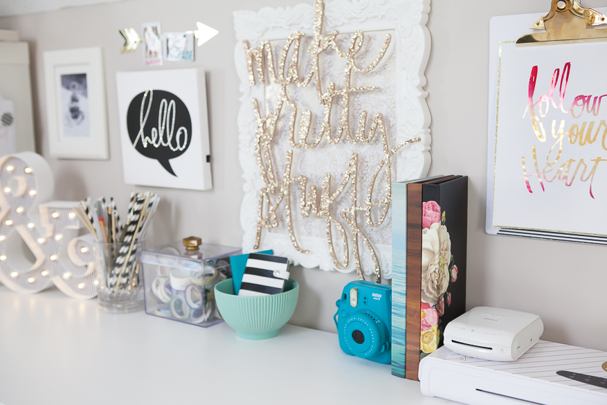 Instax Home Decor Display @lindsaybateman for @heidiswapp
