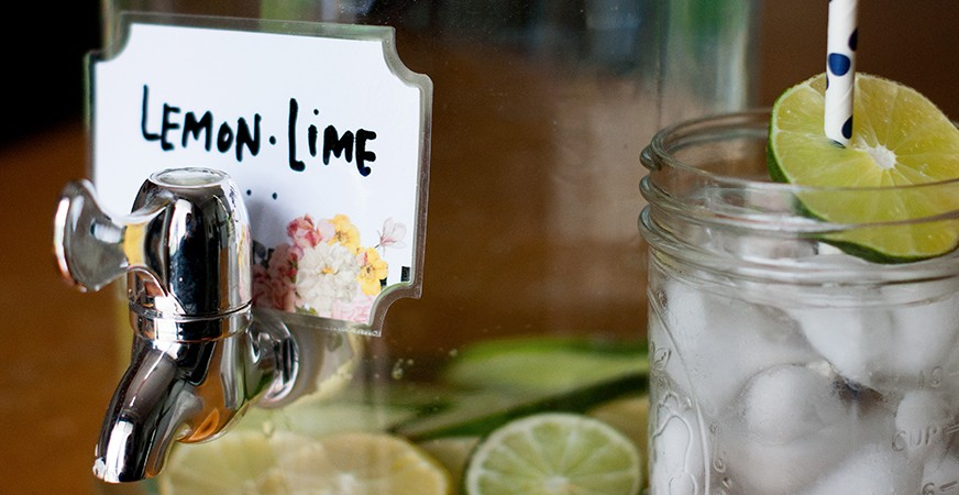 EASY PEASY DRINK JAR LABELS | MINC LAMINATION :: @MaggieWMassey for @HeidiSwapp
