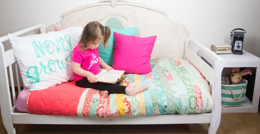 DIY Toddler Bedroom Makeover by @createoften for @heidiswapp