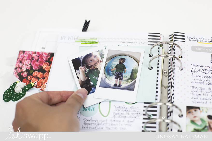 Ideas for Simple Journaling in your Memory Planner I @lindsaybateman for @heidiswapp