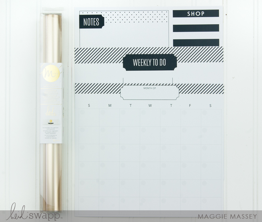 A look at the new Minc Clipboard Planner | @MaggieWMassey for @HeidiSwapp