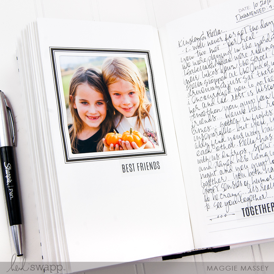 a look at the brand new Heidi Swapp Life Theme Book | @MaggieWMassey for @HeidiSwapp