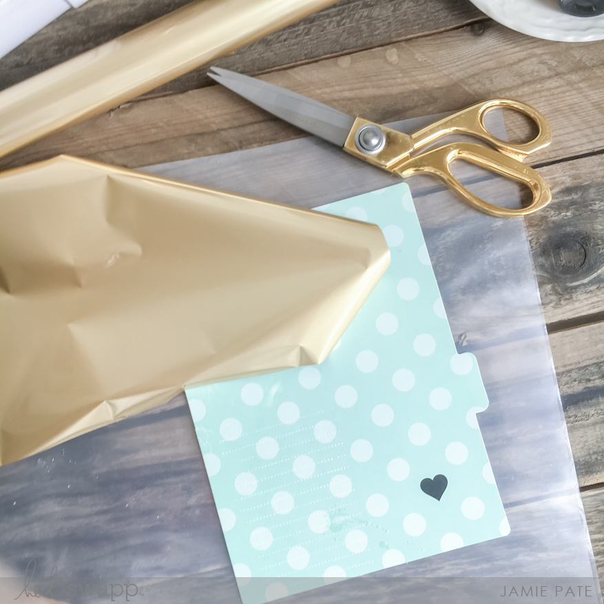 Foil up a Planner Dashboard with the Heidi Swapp Minc Machine. Jamie Pate shows you how.   @jamiepate for @heidiswapp