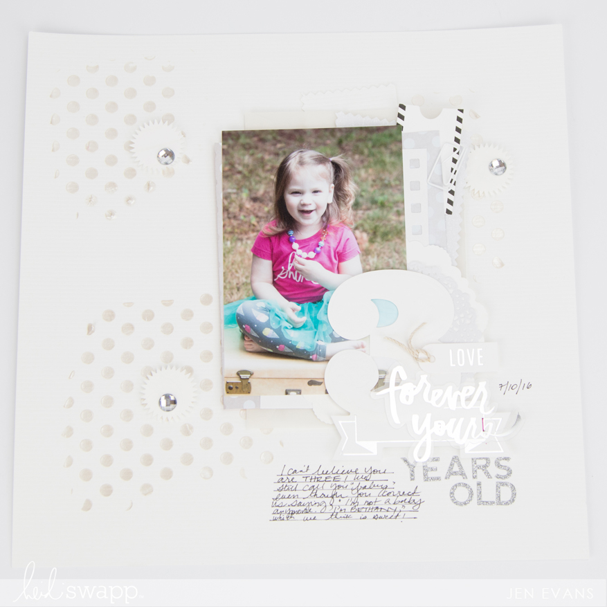 Easy mixed media with texture paste by @createoften for @heidiswapp
