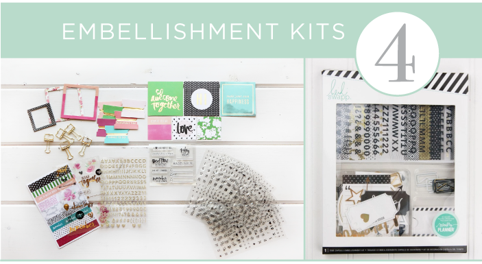 4 - Embellishment Kits