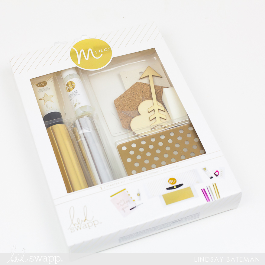 MINC starter kit mini tutorial I @lindsaybateman for @heidiswapp