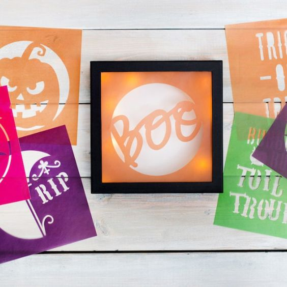 Halloween Candle Holders by @createoften for @heidiswapp