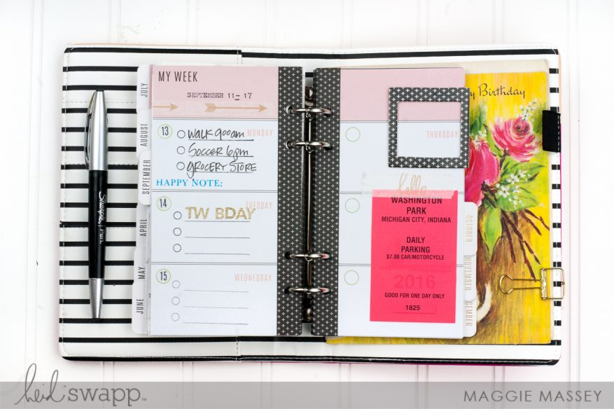 Planner Basics :: my favorite supplies | @MaggieWMassey for @HeidiSwapp