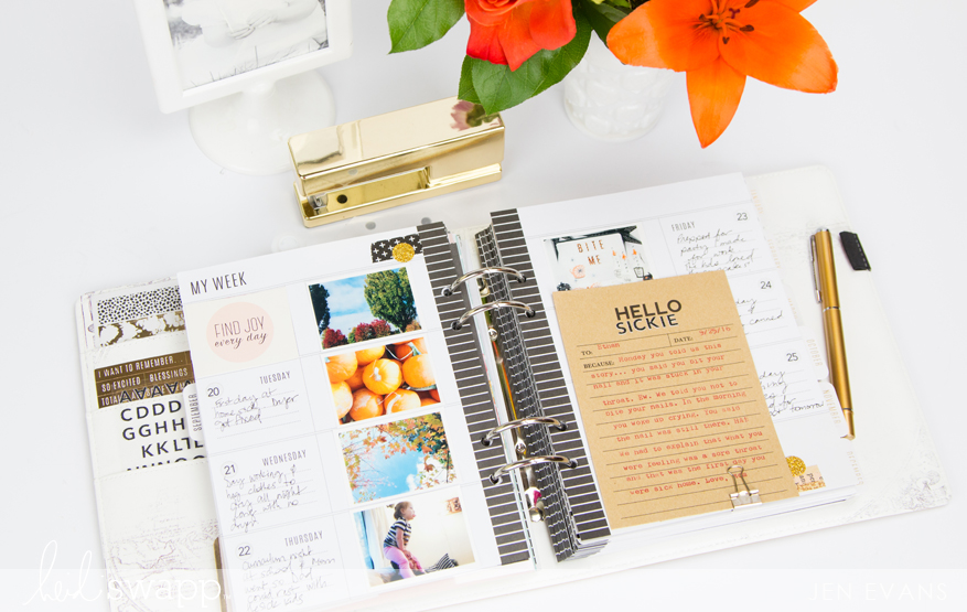 What to write about in your planner when there doesn't seem to be anything to say by @createoften