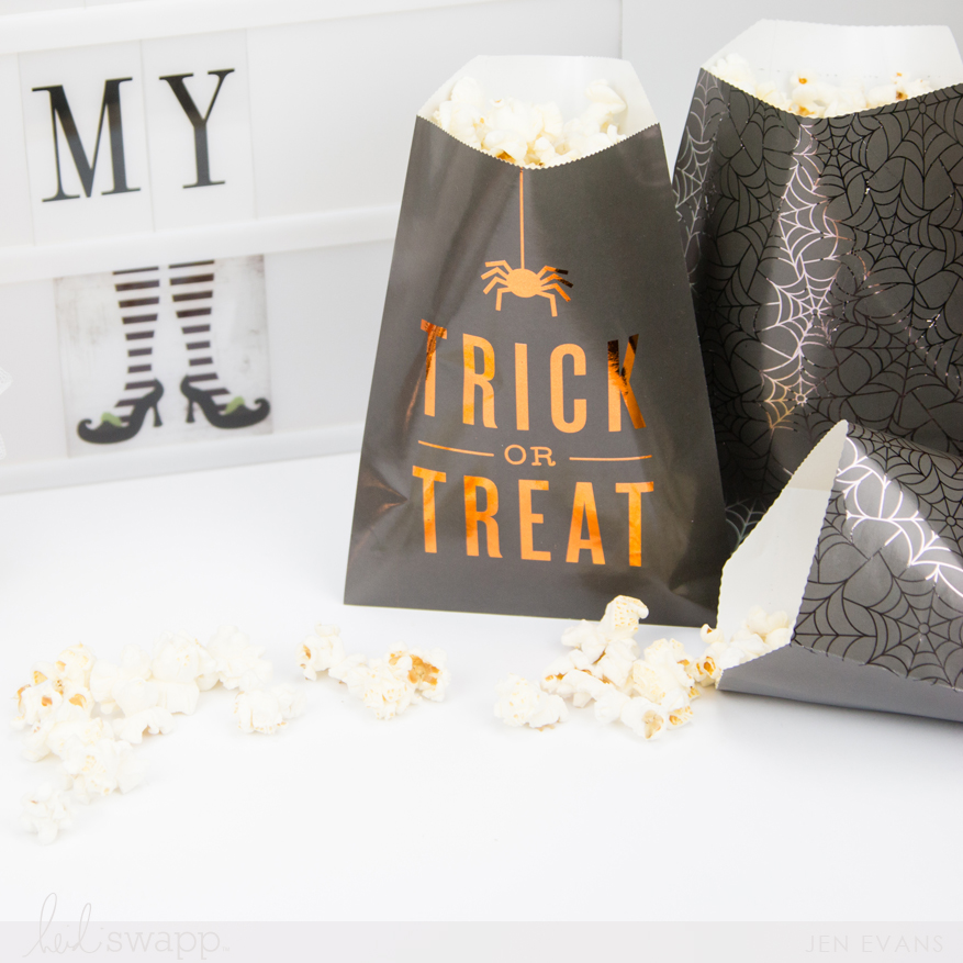 Halloween lightbox fun party idea by @createoften for @heidiswapp