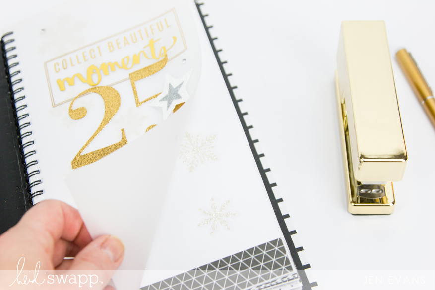 December countdown album with tips how to enjoy the holidays without the pressure by @createoften for @heidiswapp