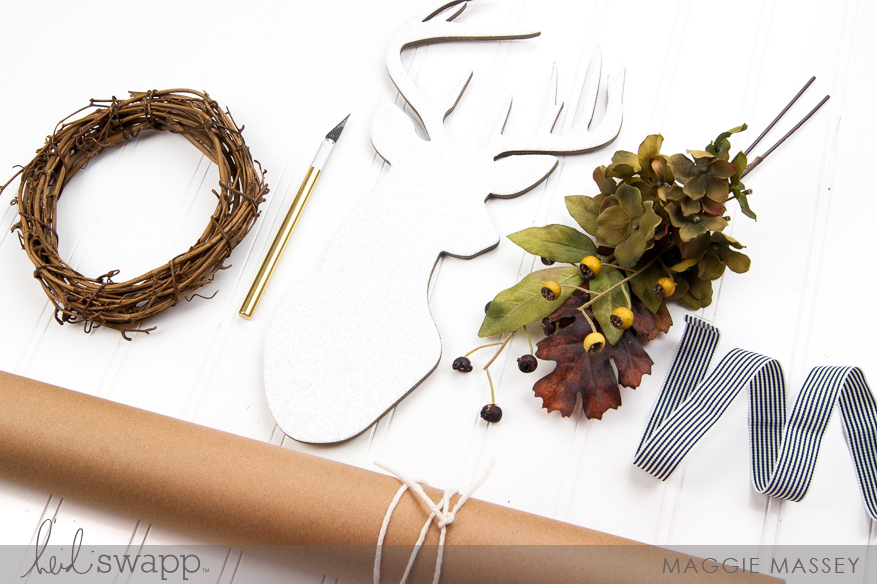 Thanksgiving Wall Shape Inspiration | @MaggieWMassey for @HeidiSwapp