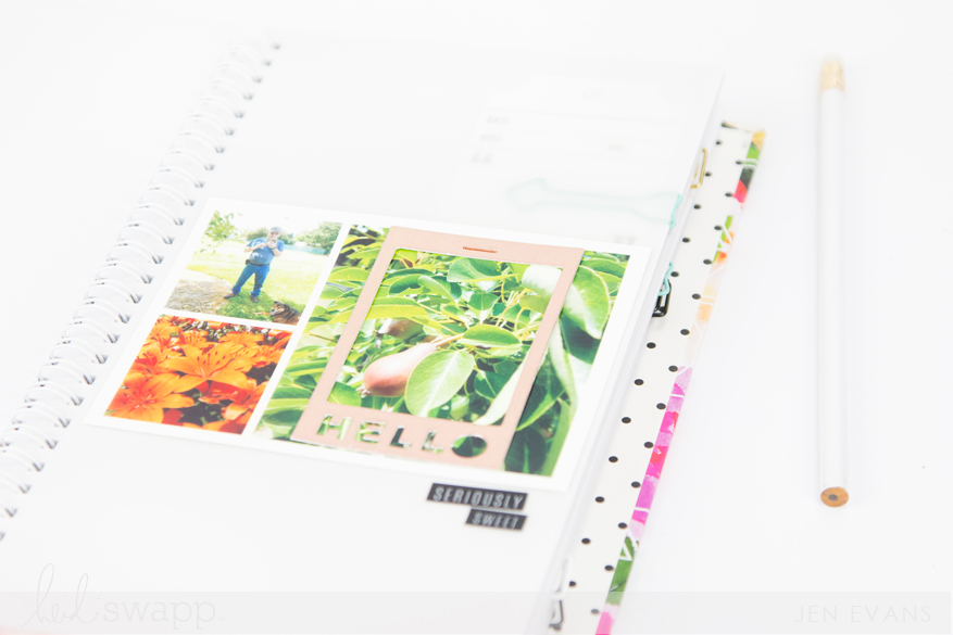 Garden instax journal by @createoften for @heidiswapp