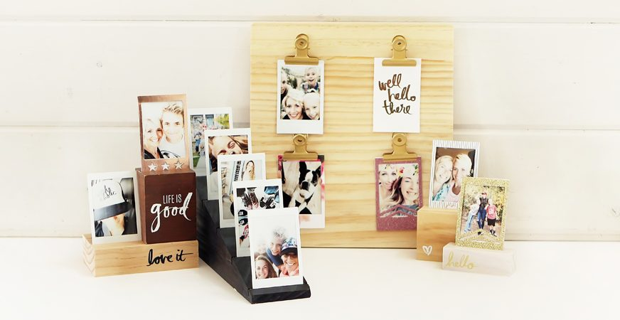 3 Ways to document memories in an instant! Instax albums by @heidiswapp