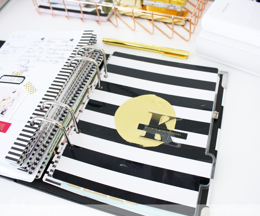 Kim Jeffress for Heidi Swapp Memory Planner