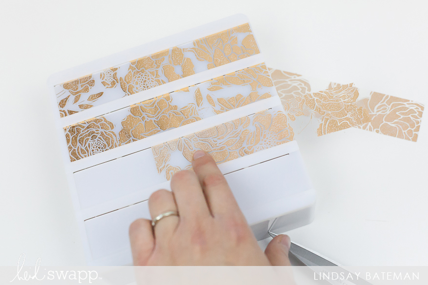Create a LightBox Insert Using MINC Reactive Art Screen Medium I @lindsaybateman for @heidiswapp