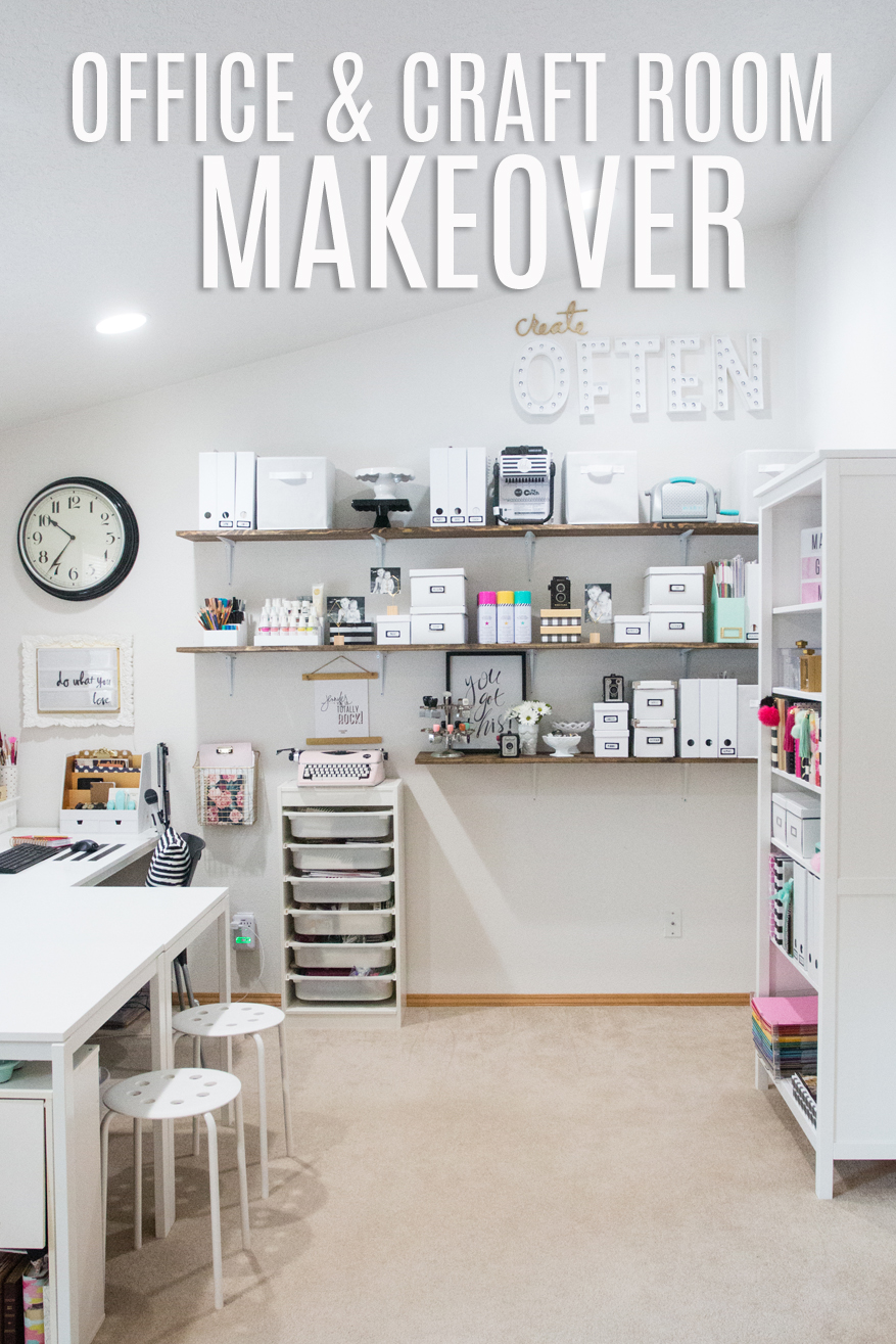 Office and craft room makeover heidi swapp Room makeover app
