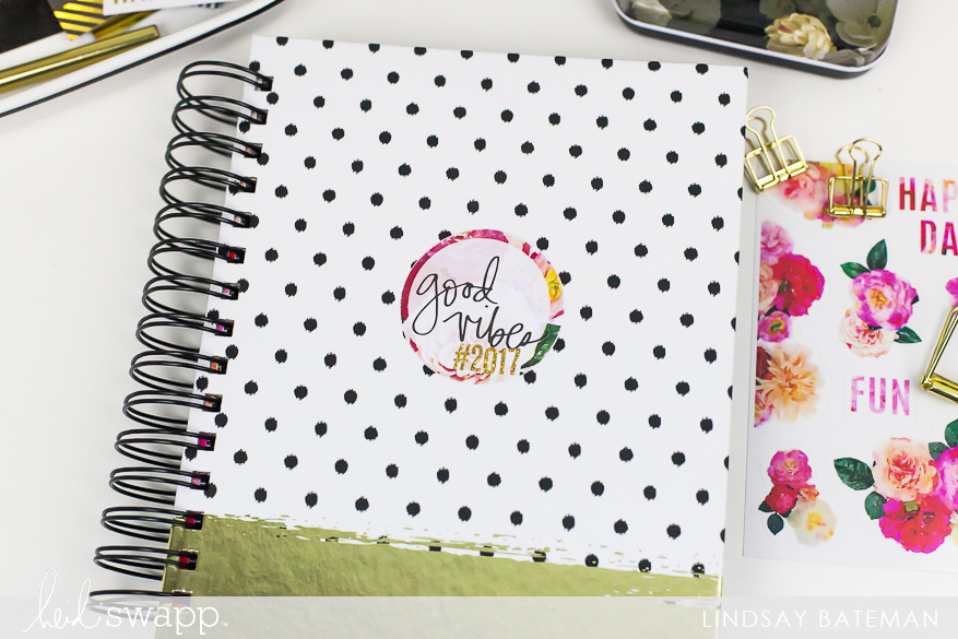 Use a planner kit to create a creative planner I @lindsaybateman for @heidiswapp