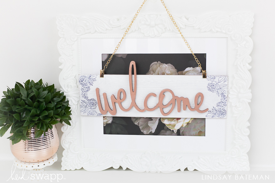 Incorporate Wall Art into Your Gallery Wall I @lindsaybateman for @heidiswapp