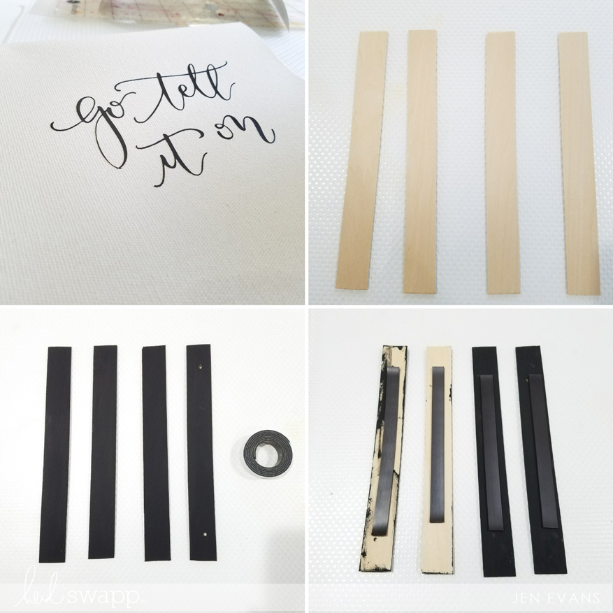 DIY Heat Transfer using the @heidiswapp Minc Foil Applicator Machine by @createoften