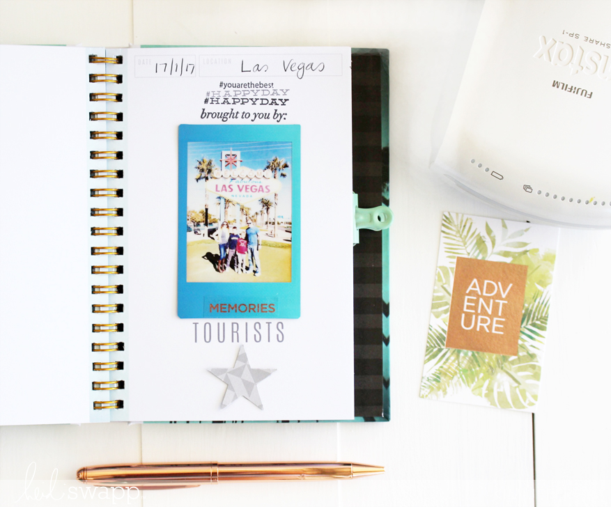 Kim Jeffress for Heidi Swapp Instax Scavenger Hunt Album