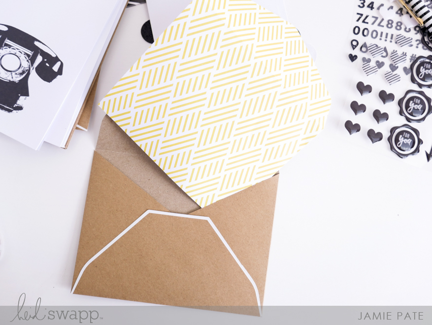 New Heidi Swapp Social Stationery cards by Jamie Pate | @jamiepate for @heidiswapp