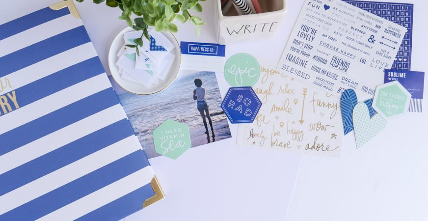 How To Tell Your Story with Heidi Swapp Story Line by Jamie Pate | @jamiepate for @heidiswapp