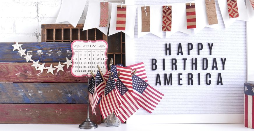 Celebrate July 4th with Heidi Swapp Letterboard by Jamie Pate | @jamiepate for @heidiswapp