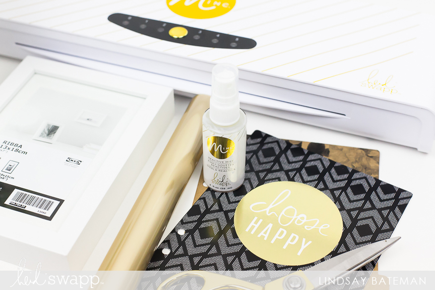 Create MINC Foiled Matting I @lindsaybateman for @heidiswapp