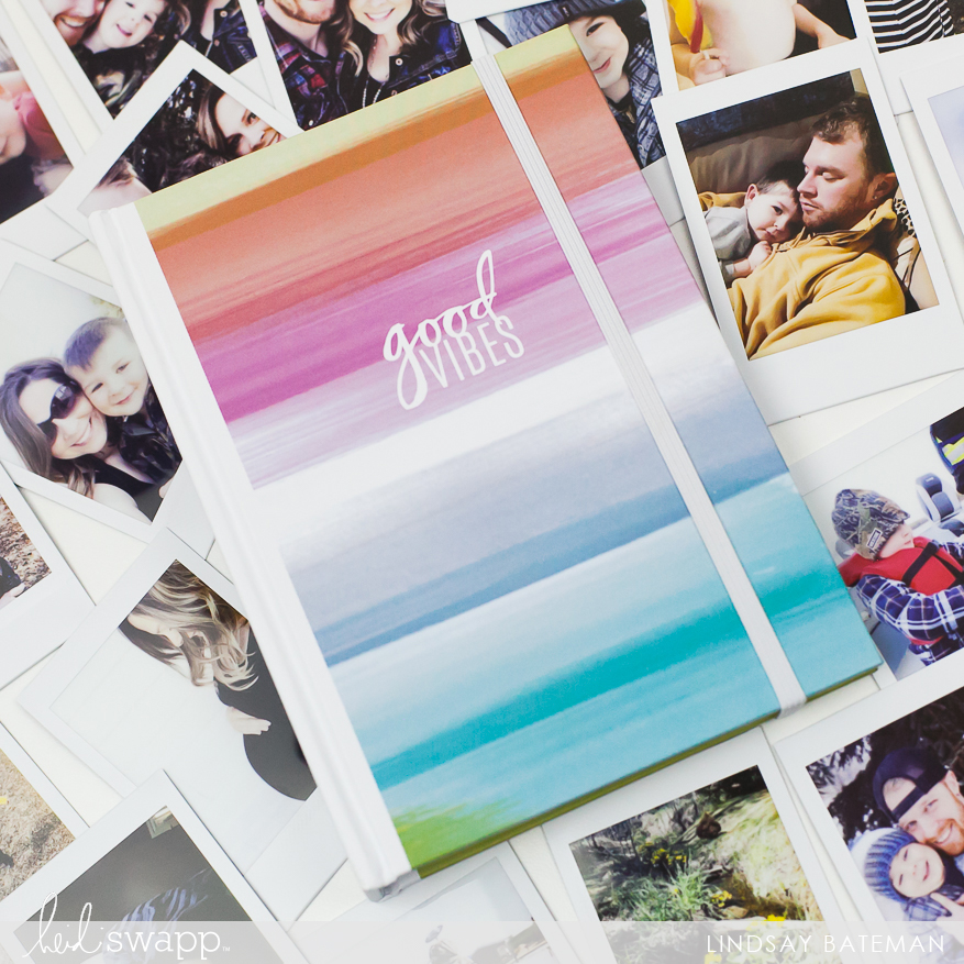 good vibes instax album I @lindsaybateman for @heidiswapp