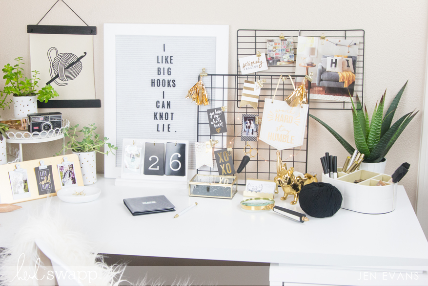 5 Tricks to Transform Your Craft or Office Space by @createoften for @thehooknook @heidiswapp