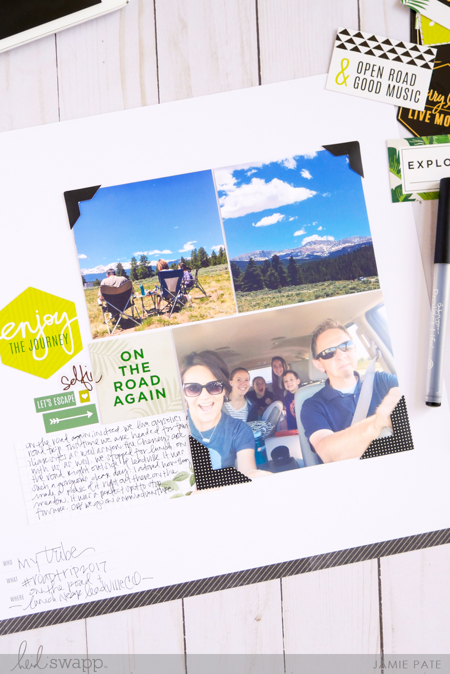 Heidi Swapp Storyline E-Book with Storyline Sketches by Jamie Pate | @jamiepate for @heidiswapp