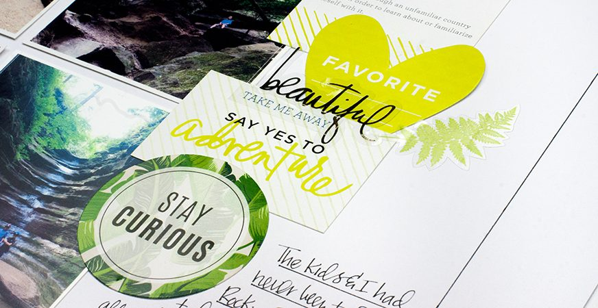 Write it Down :: Tell Your Story :: Heidi Swapp Storyline | Maggie Massey for Heidi Swapp