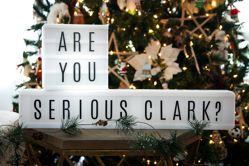 Holiday Lightbox inspirational quotes by @heidiswapp