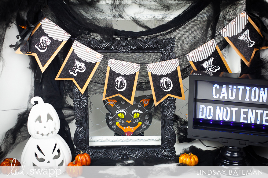 Michaels Halloween String Lights : Halloween Lights Spooky Banner Heidi Swapp