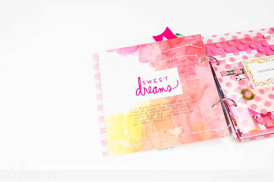 Things I Love Mini Book by @creatoften for @heidiswapp