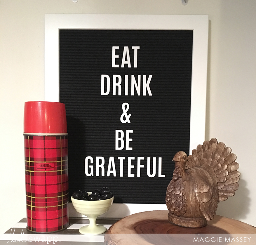 Friendsgiving 2017 with Heidi Swapp Lightbox & Letterboard | Maggie Massey for Heidi Swapp