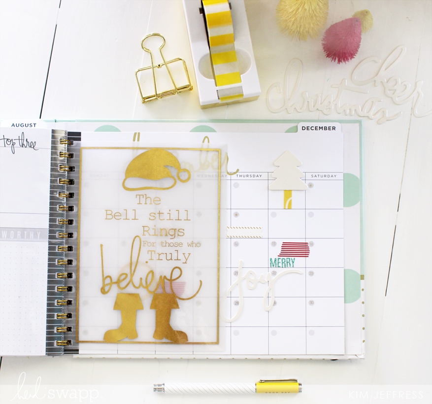 Heidi Swapp Memory Planner and Christmas printable