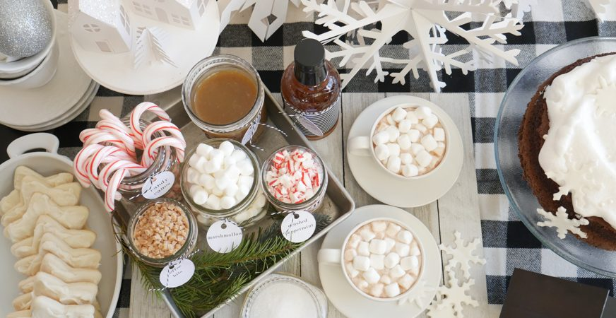 6 Ways to a Heidi Swapp Cocoa Bar Party by Jamie Pate | @jamiepate for @heidiswapp