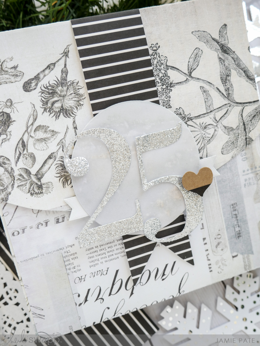 Creative Gift Wrap with Heidi Swapp Magnolia Jane by Jamie Pate | @jamiepate for @heidiswapp