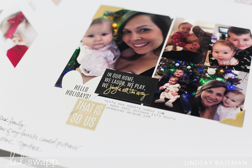 storyline and baby's first christmas I @lindsaybateman for @heidiswapp