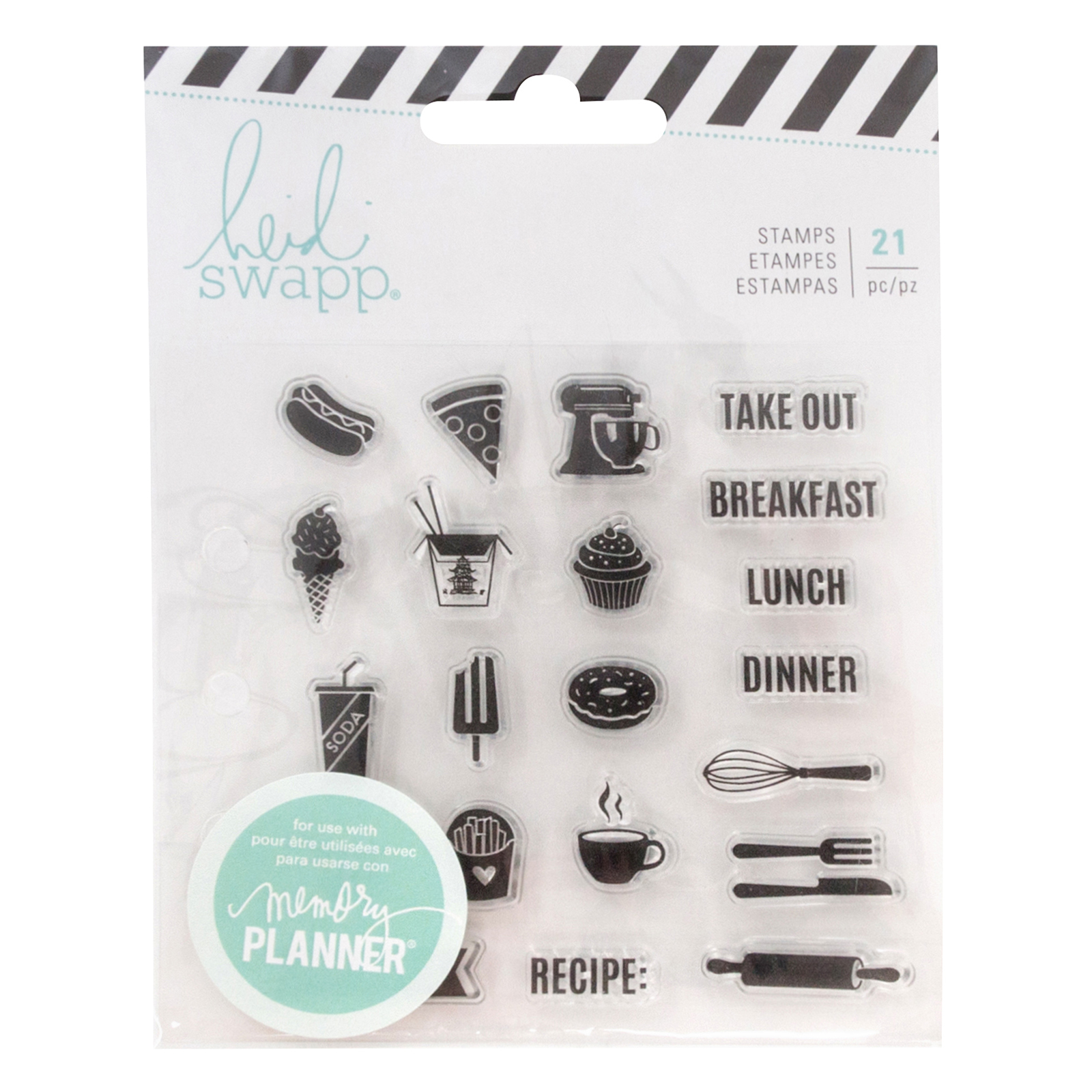 Heidi Swapp Memory Planner Clear Stamps Fresh Start, Food에 대한 이미지 검색결과